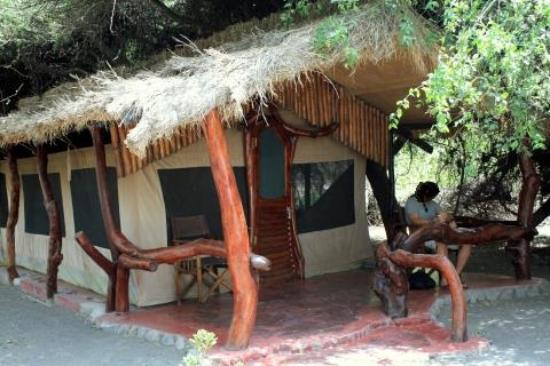 Lake Natron Tented Camp: Our tent