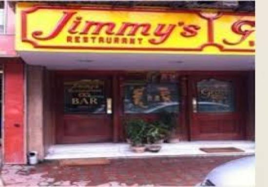Entrance of Jimmy's Kitchen . - Picture