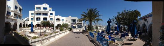 Monastir, Tunisia: Café divers marina