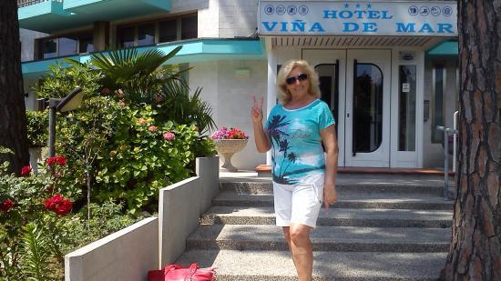 Hotel Vina De Mar: Vina de Mar -Eingang
