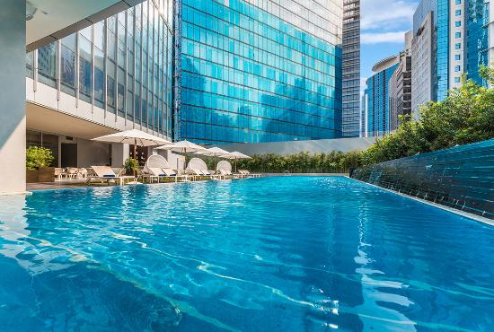 Ascott bonifacio global city manila updated 2018 apartment hotel reviews price comparison for Cheap hotels in cebu with swimming pool