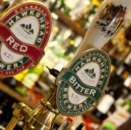 Kings Arms Restaurant: Local Ales