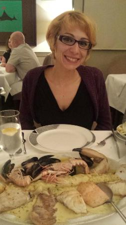 Aherne's Townhouse Hotel Youghal: Hot Seafood Selection