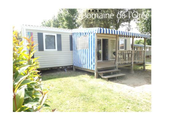 Camping Domaine de l'Orée : mobil home EVASION 4 chambres - 8 places