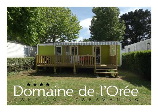 """Camping Domaine de l'Orée : mobil home """"PRESTIGE"""" 2 chambres - 2 salles de bain"""