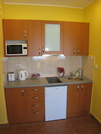 Spirit Hostel : Kitchenette in the apartment