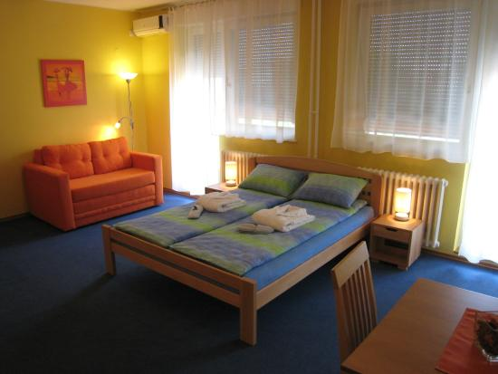 Spirit Hostel : Double bed apartment