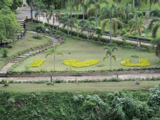 ComSaed River Kwai Resort : Vue du parc