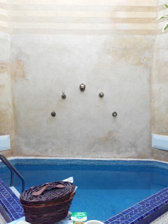 Riad Ziryab Marrakech : Piscina