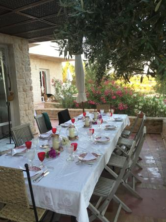 Dar Diamar: lunch dinner by the olive tree