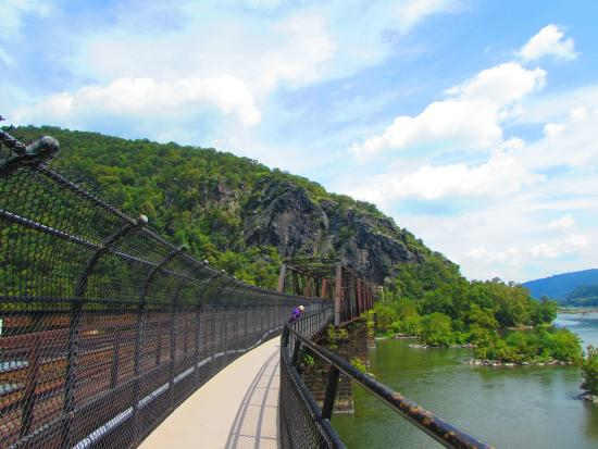 Appalachian National Scenic Trail: Bridge to Maryland