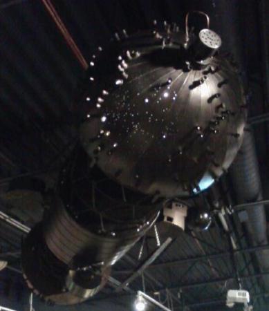 "Longway Planetarium: The ""Spitz B"" now a lobby artifact"