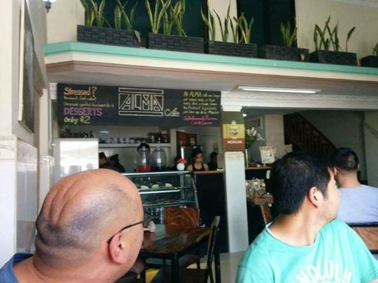 Alma Cafe : rotating menu
