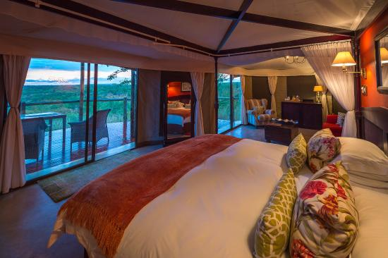 Rooms at The Elephant Camp West