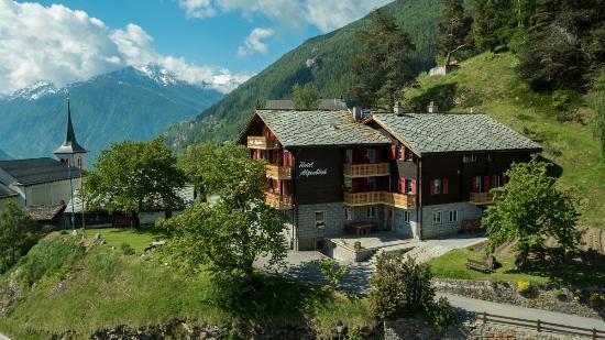 Zeneggen, Suiza: Nordansicht