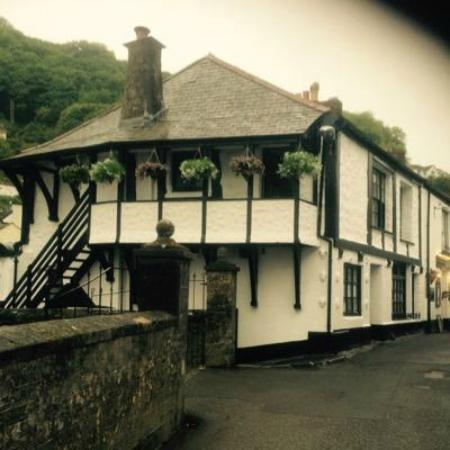 Polperro, UK: The Buccaneer, Polperrro