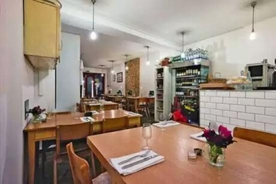 Photo of Modern European Restaurant A Little of What You Fancy at 464 Kingsland Road, London E84AE, United Kingdom