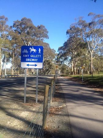 Oakbank, Australien: Great training ride