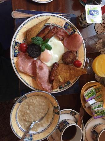 Lynden Bed & Breakfast: Maria's full Irish breakfast