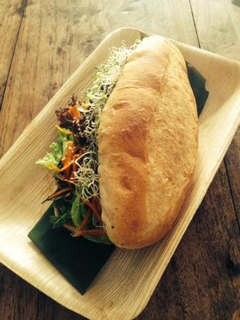 Petaling District, Malaysia: Free Range Banh Mi Sandwich on Organic Bread