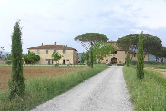 Cortona Resort - Le Terre dei Cavalieri : L'arrivée au relais