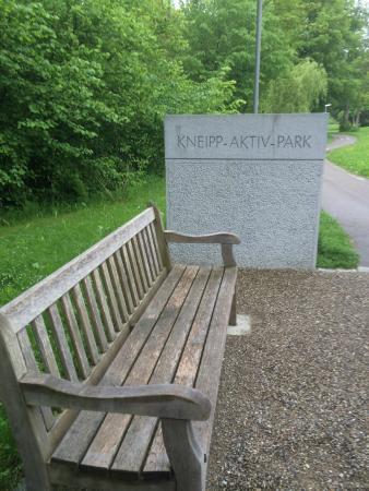 Parkhotel Maximilian Ottobeuren: Kneipp area