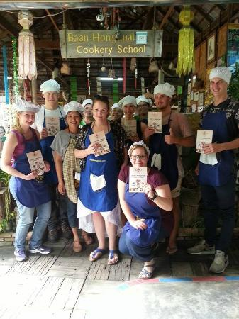 Baan Hongnual Cookery School: Warm Welcome with Family staff ...