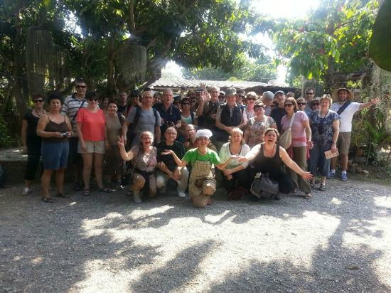 Baan Hongnual Cookery School: Happy with Fulled