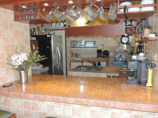 Casa Los Cerros: Cocina
