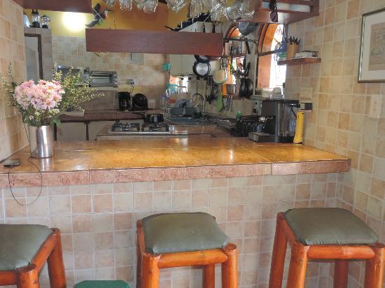Casa Los Cerros: bar de la cocina