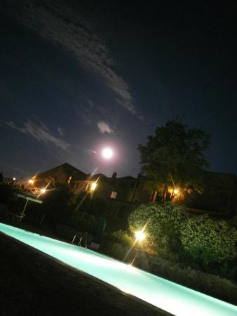 Rocca di Cispiano: la sera