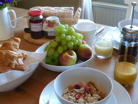 King's Head House: Continental breakfast