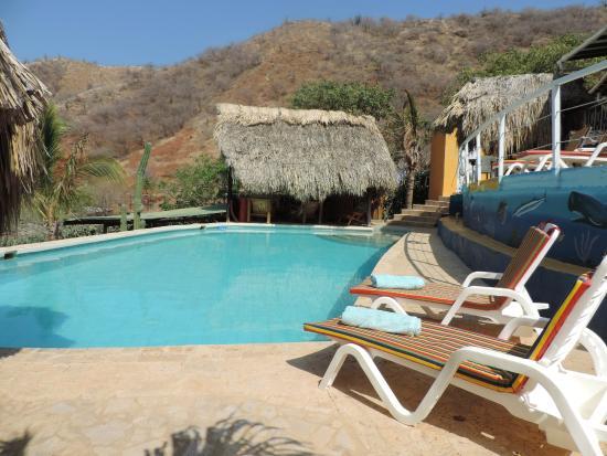 Casa Los Cerros: La piscina