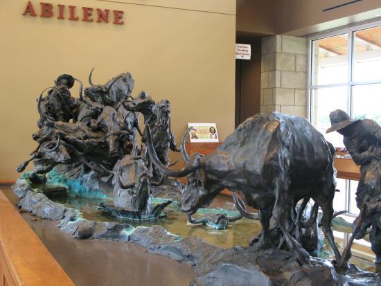 Frontier Texas!: Sculpture in Lobby