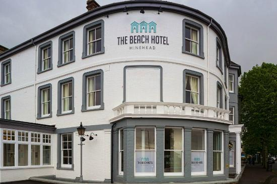 The Beach Hotel Front Of Building