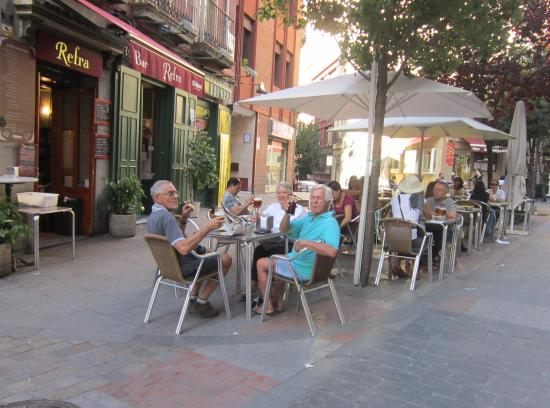 Refra: Our first Tapas meal in Madrid
