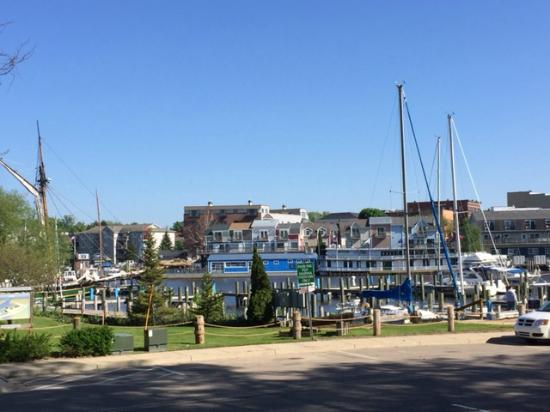 Carriage House at the Harbor: View of Harbor from Back of Carriage House