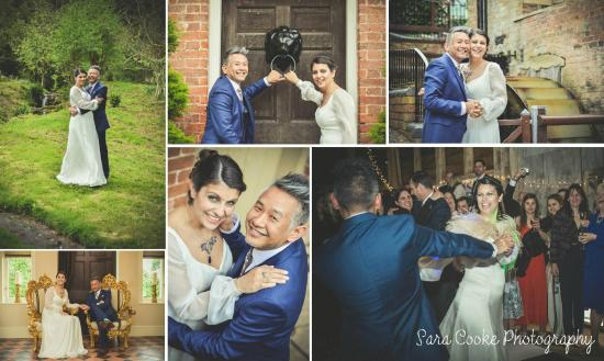 Shelsley Walsh, UK: Kate & Kevin's Shelsley Wedding!