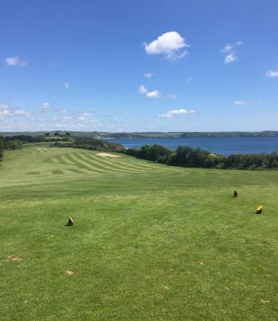 The Carlyon Bay: 1st Tee