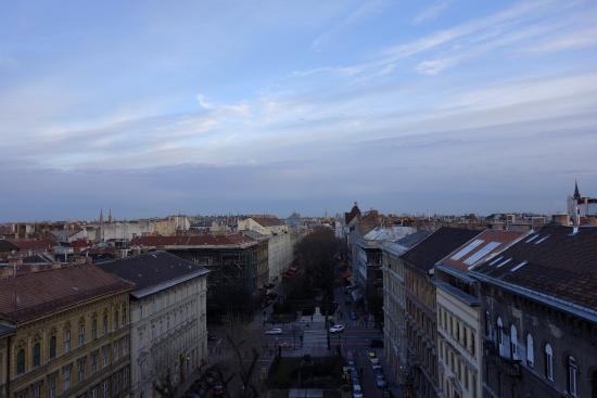 Medosz Hotel: Вид из номера