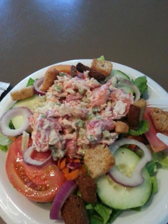 The Haven Restaurant: Lobster Salad on a salad