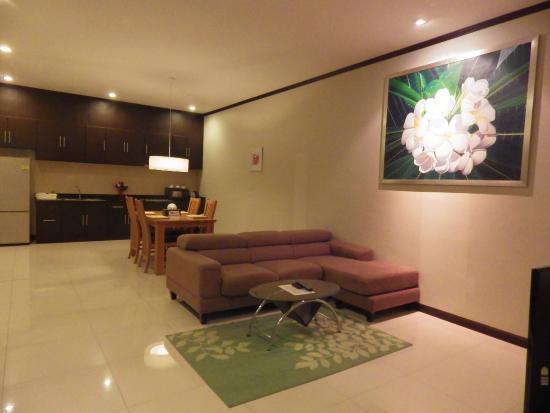 Modern Thai Villa: 還有廚房可使用