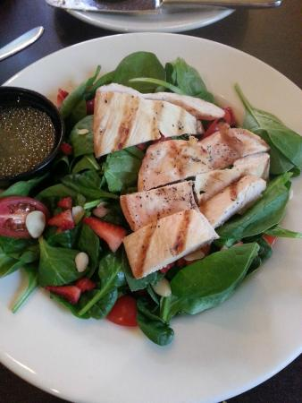 The Holy Grail: Spinach Chicken Salad with Strawberries