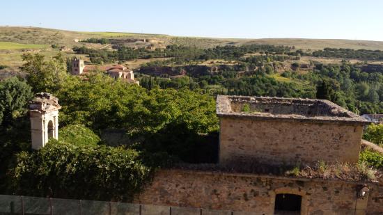 Exe Casa de Los Linajes: zicht vanuit kamer