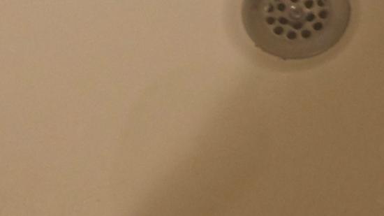 Hampton Inn White Plains / Tarrytown: Yucky Stain in the tub need a tub mat