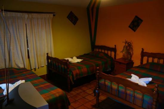 Hospedaje Los Jardines: Notre chambre