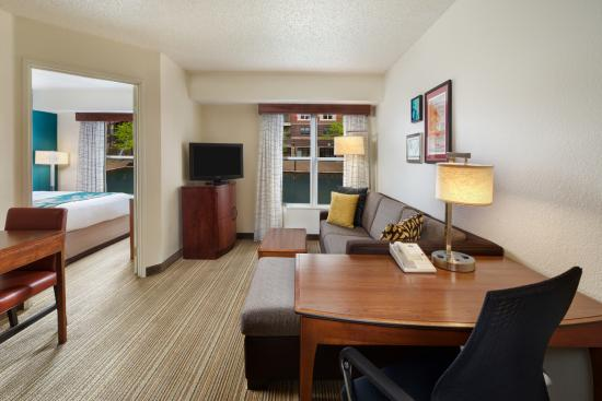 Residence Inn Indianapolis Downtown on the Canal: One Bedroom Suite - Water View