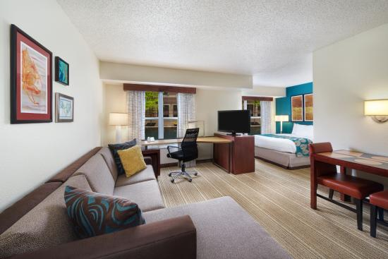 Residence Inn Indianapolis Downtown on the Canal: Studio Suite - Water View