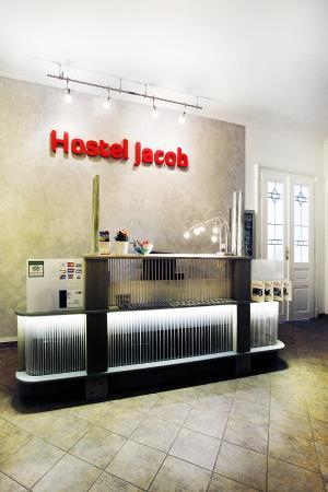 Jacob Brno Apartments - Hostel - Penzion : recepce