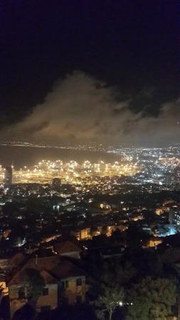 נמל חיפה: Haifa port kuş bakışı